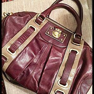 Handbags - Marc Jacobs Bi-Color Hudson Satchel